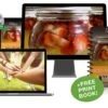 Lacto-Fermentation eCourse — Online w/ FREE Print Book! (Value $952)