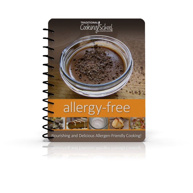Allergy-Free Cooking Softcover Textbook (Reg $80)